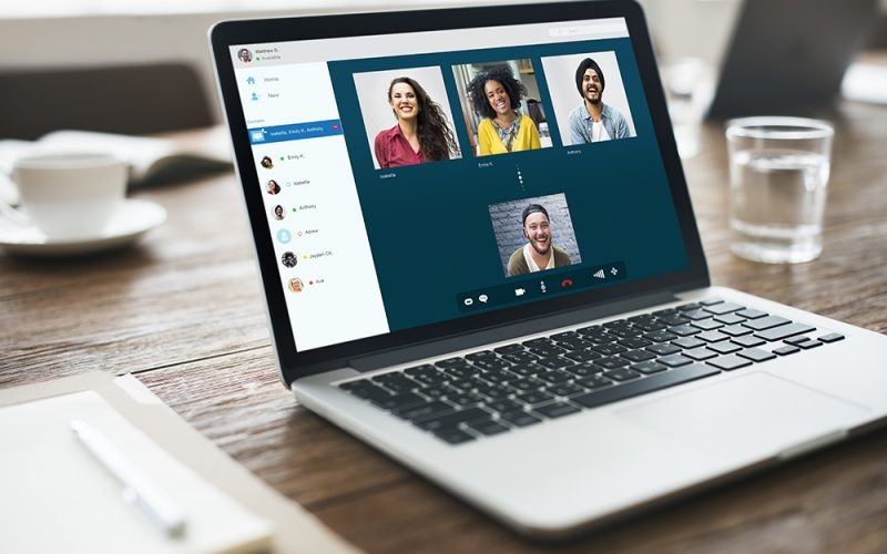 Group Friends Video Chat