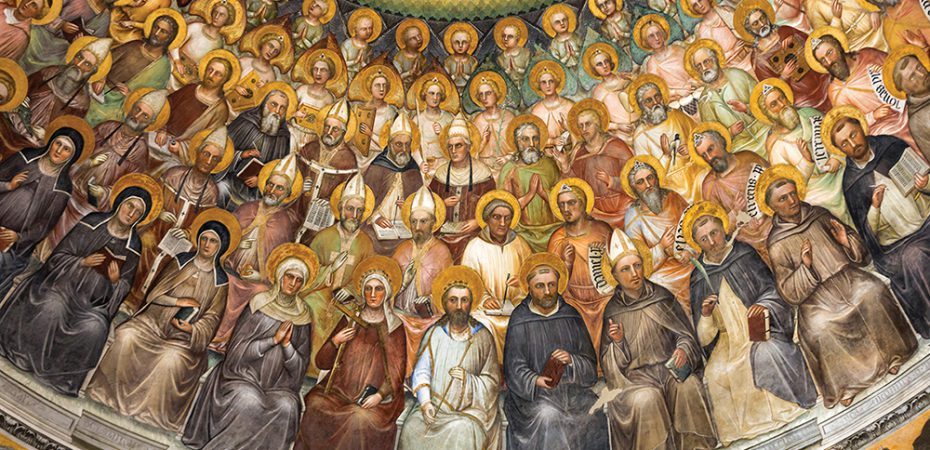 Surrounded by the Saints